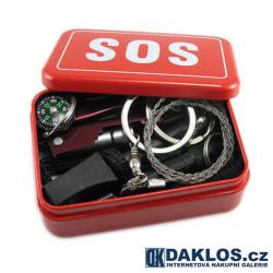 22 v 1 SOS box na přežití / krabička poslední záchrany
