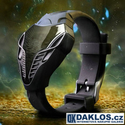 Moderní LED digitální náramkové hodinky BLACK WIDOW