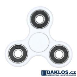 Fidget Spinner / Spinee proti stresu / Antistresové ložisko - bílo černé