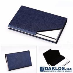 Magnetický kovový vizitkář / pouzdro na karty a doklady