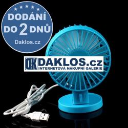 USB nastavitelný velmi tichý větrák / ventilátor / chlazení