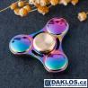 Kovový barevný Fidget Spinner / Spinee proti stresu / Antistresové ložisko v kovové krabičce