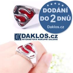 SUPERMAN - stříbrný prsten / prstýnek