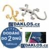 3D Gekon / Ještěrka - samoleka / nálepka nejen na auto