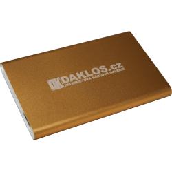 Daklos Powerbank - zlatá