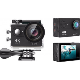 4K Daklos Sharpcam - Black, WiFi