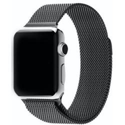Nerezový ocelový pásek na Apple Watch - Black