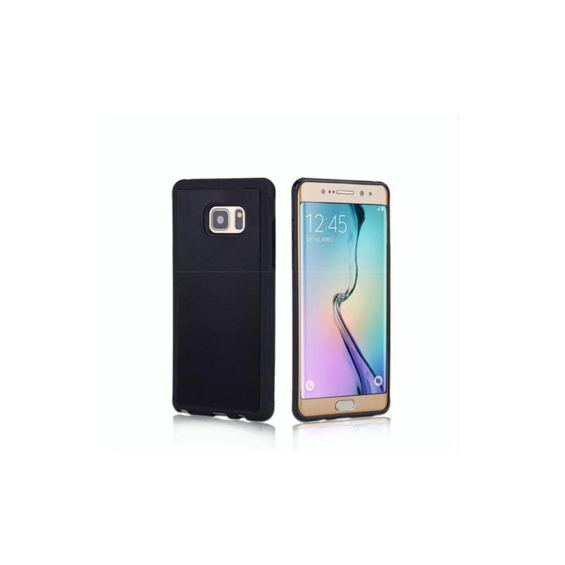 Samsung Galaxy S7 Edge Antigravitační a ochranný kryt / obal, Barva Černá
