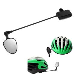 Zpětné zrcátko na kolo na helmu