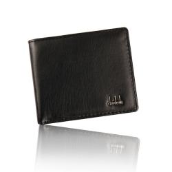 Tenká elegantní pánská peněženka z umělé kůže - černá