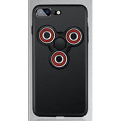 Pouzdro na iPhone 7 s Fidget Spinnerem - černý