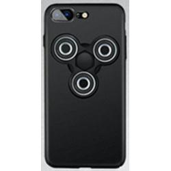 Pouzdro na iPhone 7 s Fidget Spinnerem - černé B