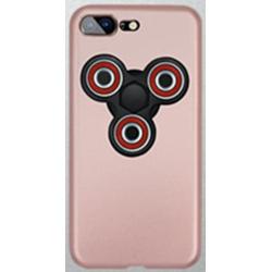 Pouzdro na iPhone 7 s Fidget Spinnerem - růžově zlatá