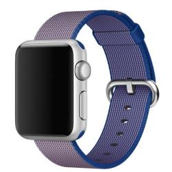 Nylonový řemínek pro Apple Watch - modrý A