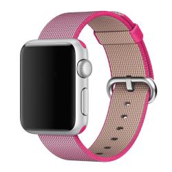 Nylonový řemínek pro Apple Watch - růžový