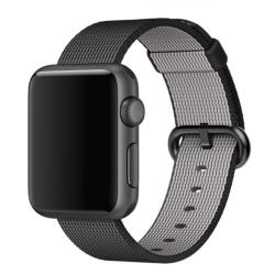 Nylonový řemínek pro Apple Watch - černý