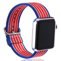 Nylonový řemínek pro Apple Watch - Americká vlajka