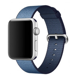 Nylonový řemínek pro Apple Watch - modrý B