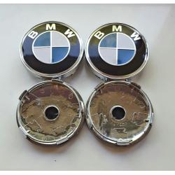 4x BMW středy kol, kryty, pokličky do kol - 60mm - STANDARD