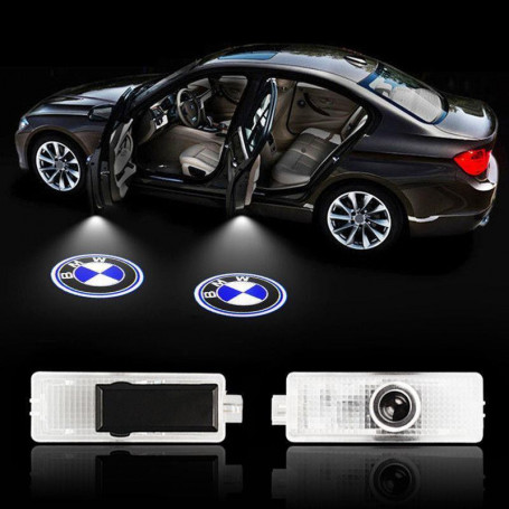 2x BMW LED projektory znaku do dveří