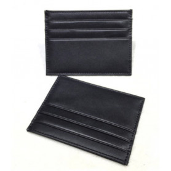 Ultratenká kožená peněženka - pouzdro na kreditní karty