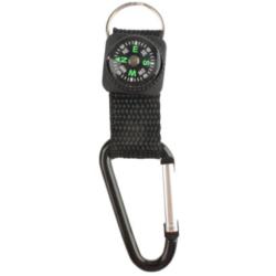 Multifunkční karabina / přívěšek na klíče s kompasem