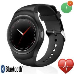 Stylové chytré hodinky s monitorem srdečního tepu