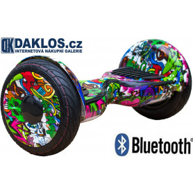 Graffiti Mini Segway OFFROAD X-Giant 10 inch s Bluetooth - HL-A8G2