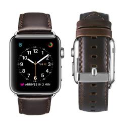 Luxusní Kožený řemínek na Apple Watch