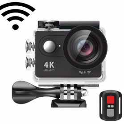Akční kamera 4K Sharpcam s dálkovým ovladačem - WiFi