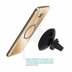 Bezdrátová nabíječka / držák do auta Samsung S8 / S7 / S6