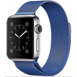 Nerezový ocelový řemínek na Apple Watch - Blue
