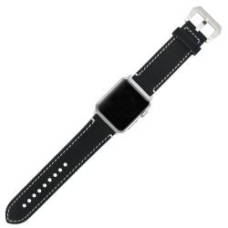 Elegantní kožený řemínek na Apple Watch