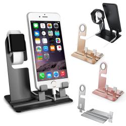 Multifunční hliníkový stojánek / držák na Apple Watch / iPhone