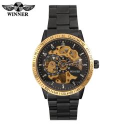 Luxusní automatické hodinky -  FULLBLACK