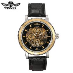 Automatické hodinky WINNER v luxusním zlatém provedení