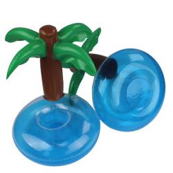 Nafukovací plovoucí držák na pití - palma