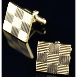 Luxusní set manžetových knoflíčků a kravatové spony