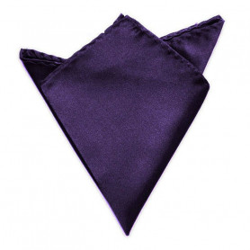 Společenský kapesníček / kapesník do saka - tmavofialová