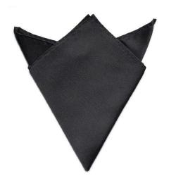 Společenský kapesníček / kapesník do saka - tmavě šedá