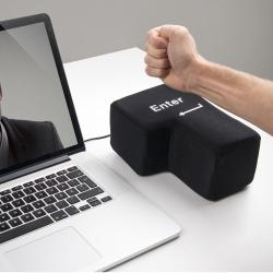 Velká USB klávesa ENTER proti stresu