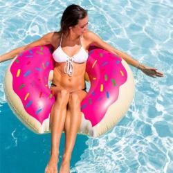 Obrovský nafukovací donut / americká kobliha 120cm!