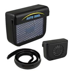 Solární klimatizace ventilátor do auta na boční sklo
