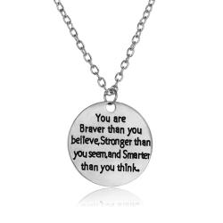 Motivační řetízek náhrdelník