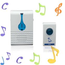Bezdrátový bezdrátový zvonek - komplet přijímač / vysílač