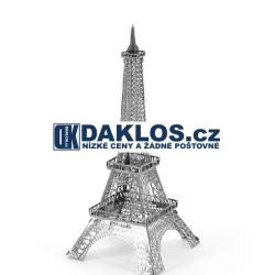 3D kovová stavebnice / puzzle - Eifelova věž - Eifelovka / kovové puzzle
