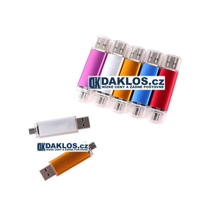 USB / Micro USB Flash disk OTG / Fleška 32 GB pro telefon i počítač