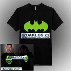 Noční světelné tričko / triko - Batman