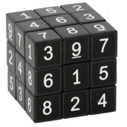 Sudoku černá rubikova kostka