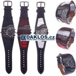 Multifunkční vojenské hodinky - dvojí čas